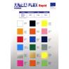 FOLIA IKONOS ULTRA FLEX POMARAŃCZOWA ( ORANGE ) 0,5 x 1 m