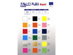 FOLIA IKONOS ULTRA FLEX FLUO RÓŻOWY (NEON PINK) 0,5 x 1 m