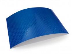 FOLIA ODBLASKOWA IKOLITE PRISMATIC REFLECTIV BLUE 1,24 x 1m